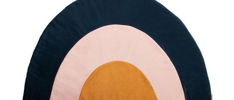 Tapis de jeu Rainbow velvet night blue
