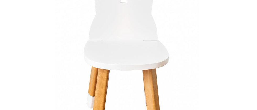Chaise lapin blanc