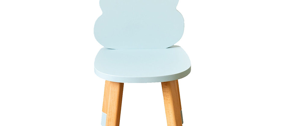 Chaise nuage bleu
