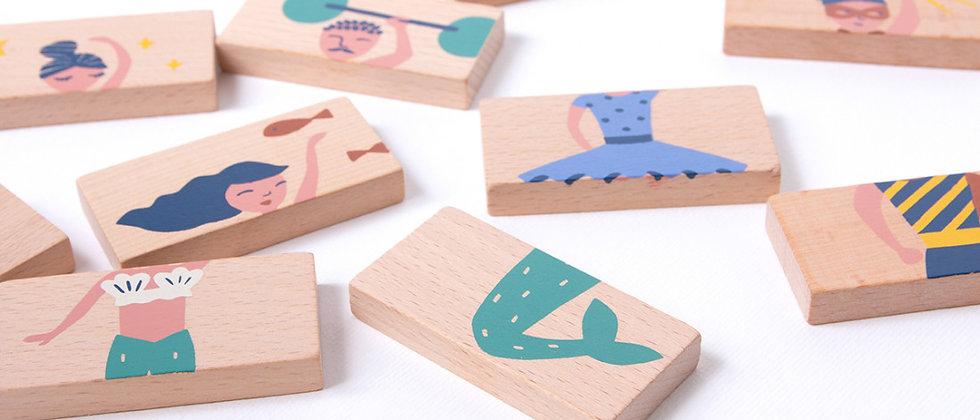 Puzzle en bois Méli-Mélo