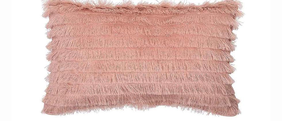 Arad Cushion, Rose, Cotton