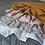 Thumbnail: Couverture et oreiller garnis lin rose