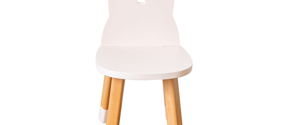 Chaise lapin rose