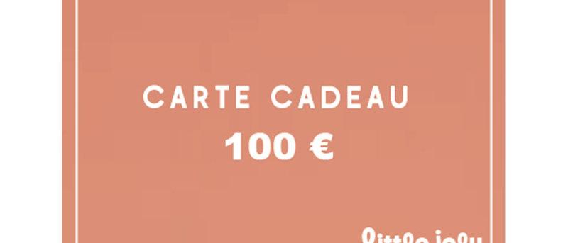 ECarte cadeau 100 euros