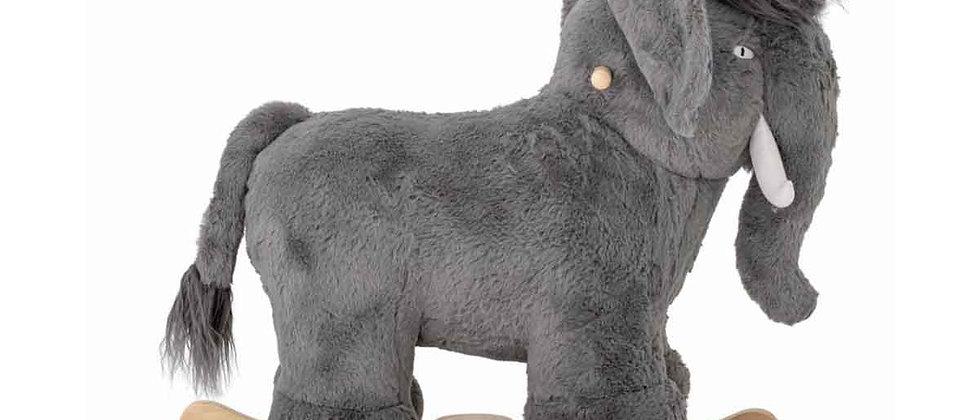 Calma Rocking Toy, Mammoth, Grey,