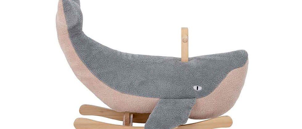 Moby Rocking Toy, Whale