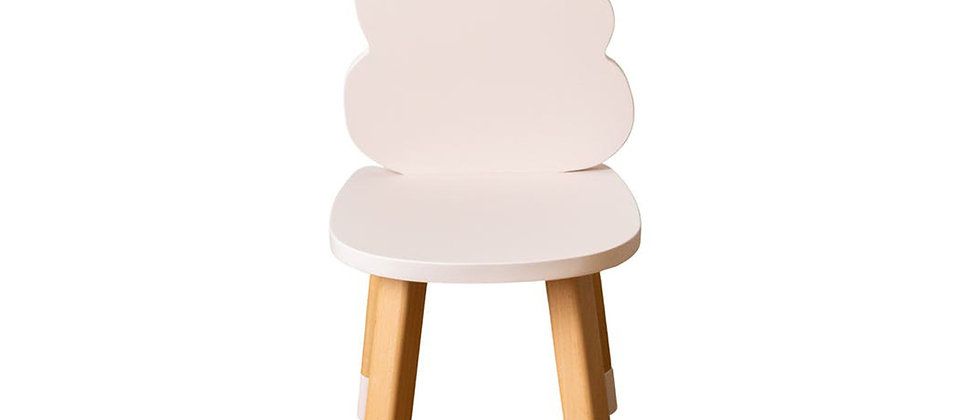 Chaise nuage rose
