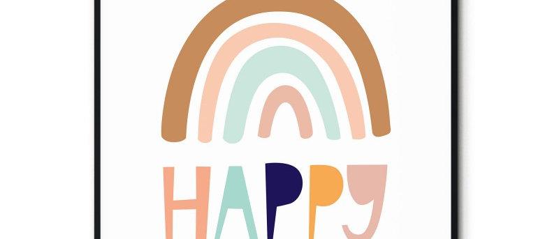 Affiche Happy n°2