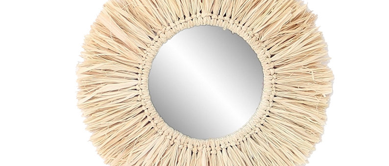 Miroir naturel Efia 44cm