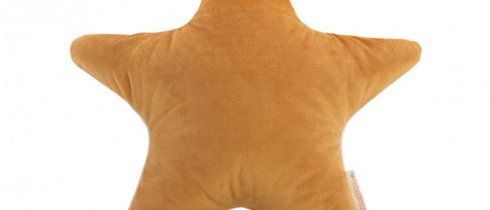 Coussin Aristote star farniente yellow