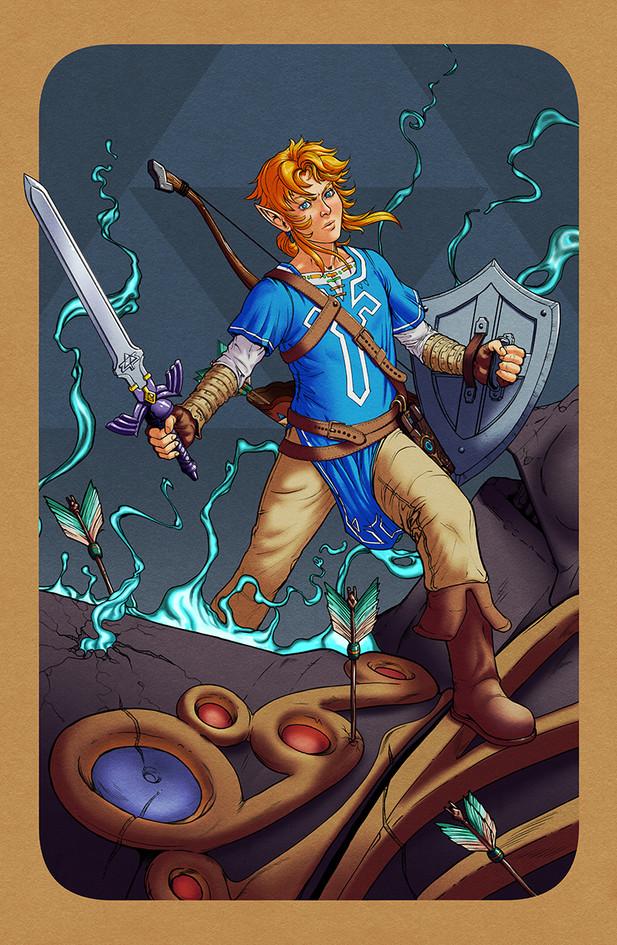 Legend of Zelda - Breath of the Wild - Link
