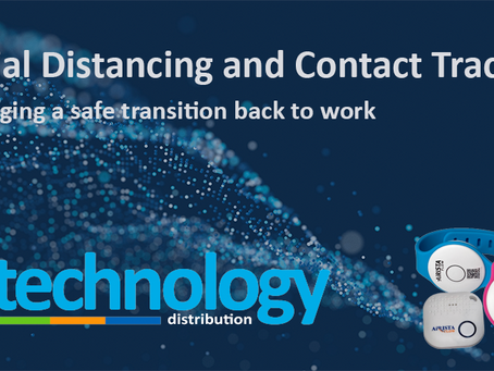 InTechnology Distribution Brings Social Distancing And Contact Tracing Solution For The Workplace