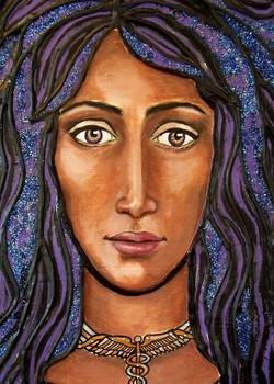 Goddess iris (detail)