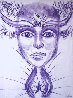 Arianrhod ~ Celtic Goddess of the Moon, the Stars, the Sky