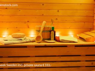 private sauna in-house
