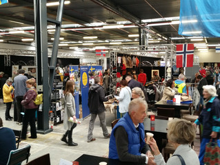 reviewing our 2 days of fair in Nijkerk