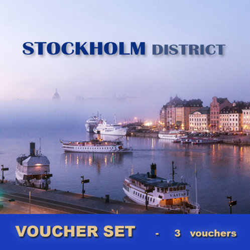 Voucherset Holmstock 3x 1-week-vouchers