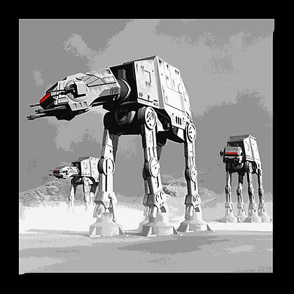 STAR WARS - AT AT WALKERS #2