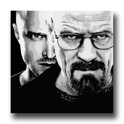 Heisenberg and Jesse - Breaking Bad