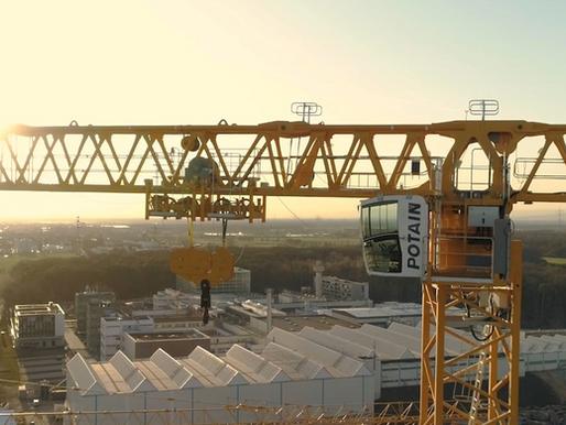 A mega crane for a mega project