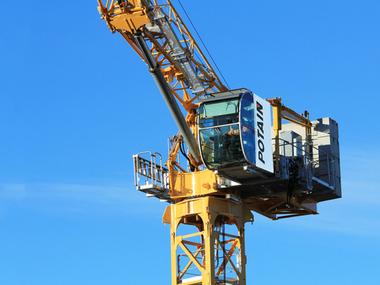 Pump it up! Hydraulic technology gives Potain luffing jib cranes a boost