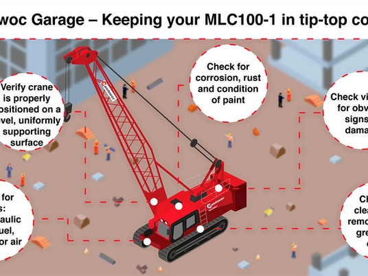 Manitowoc Garage – Keeping your MLC100-1 in tip-top condition
