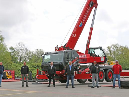 La nueva generación de cabinas de vehículo de Grove hace su presentación en Alemania