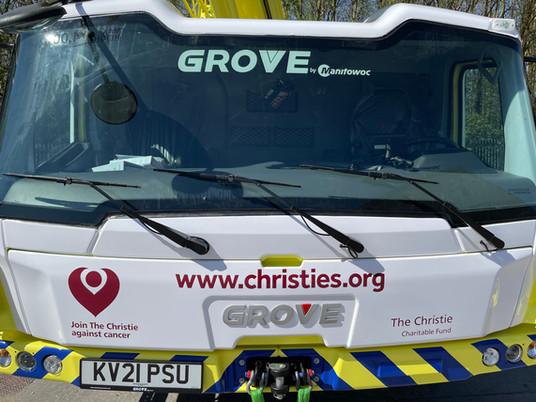Grove GMK5200-1 : la grue au grand cœur