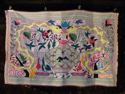 tapestry from shipibo