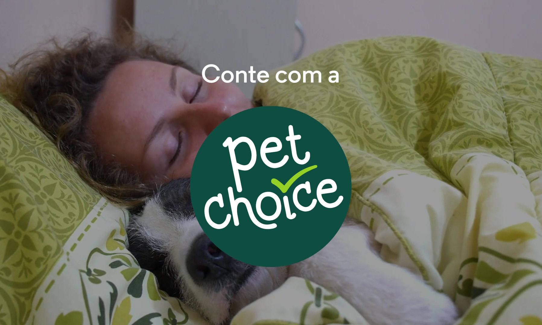 Conte com a PET CHOICE