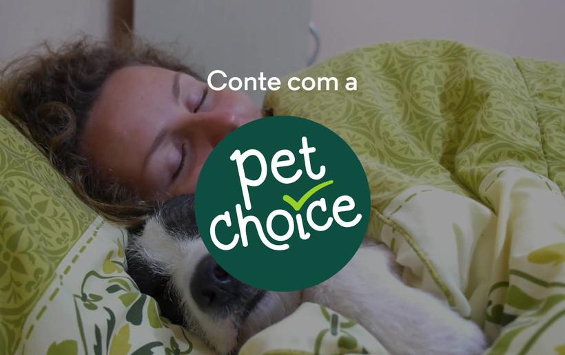 Conte com a PET CHOICE