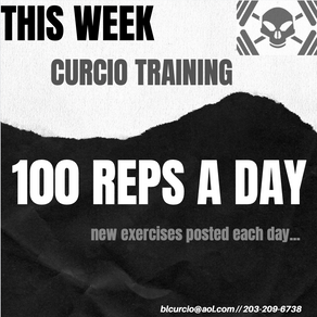 100 Reps Each Day of the Week