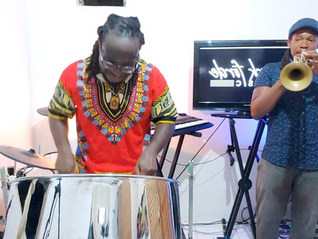 Forde leaves his mark on virtual pan concert