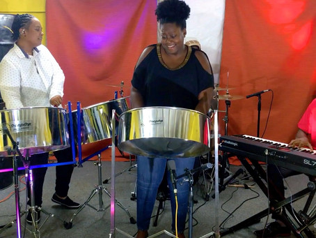 Antigua and Barbuda's first female Panorama arranger ripples the PanMotion waters