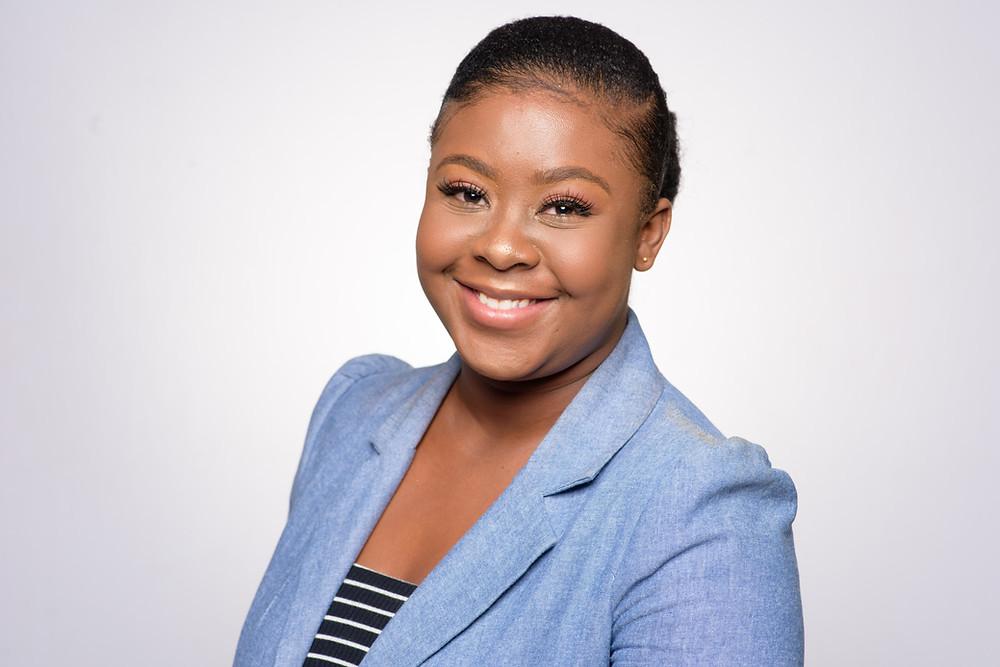 Dana Malcolm, PE's first intern.
