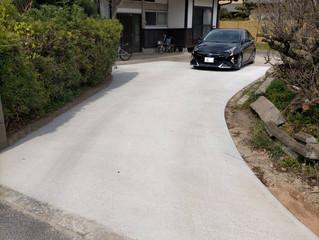 唐津市M様 駐車場工事完了