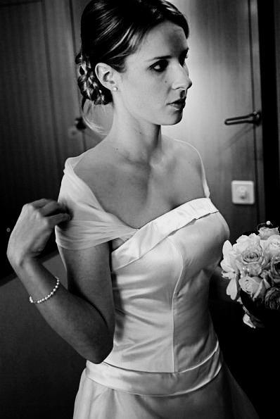 noir et blanc-cérémonie