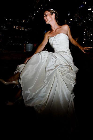 mariée au bar