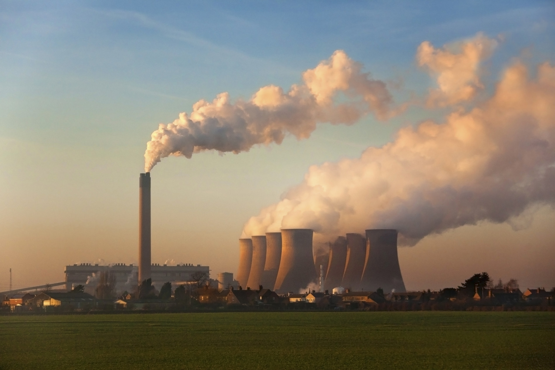 coal-fired-power-station-greenhouse-gase