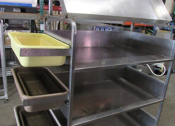 John Boos Sorting Cart 16 ga Stainless
