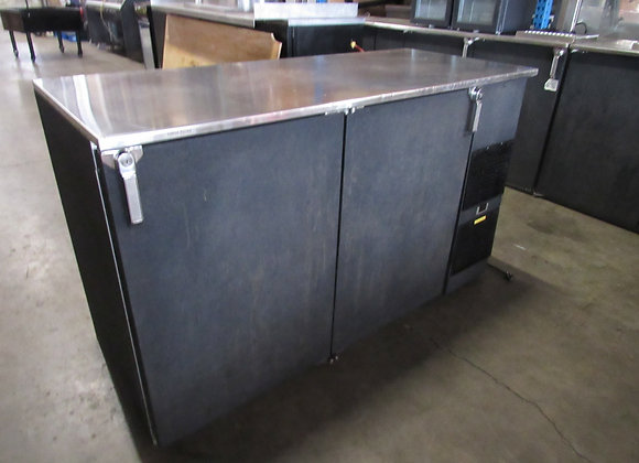 "Glastender BB60 R6-BS - Back Bar, 60"""
