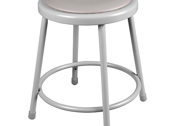 """Learniture NOR-TY-538P-18GR18"""" Padded Stool"""
