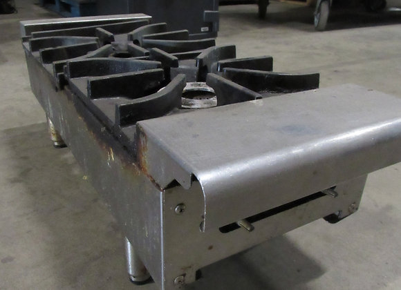 """Imperial IHPA-2-12 12"""" Two Burner Countertop Gas Hotplate"""