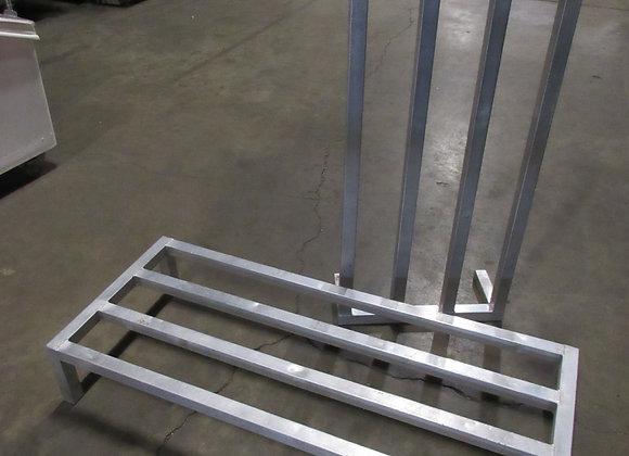 "48"" x 20"" x 8"" Aluminum Dunnage Rack - 1300 lb. Capacity"