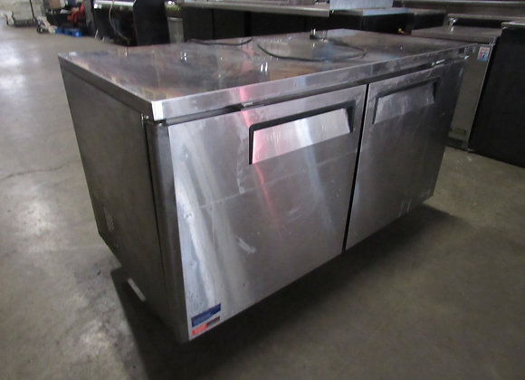 "Turbo Air MUF-60-N 60 1/4"" W Undercounter Freezer"
