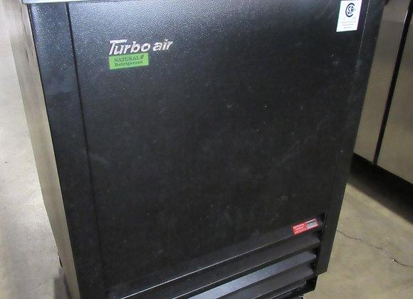 "Turbo Air TBC-24SB-N6 Black 24"" Bottle Cooler"