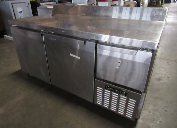 Continental CRA68-BS Refrigerated Base Cabinet