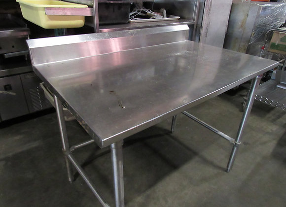 """30"""" x 48"""" 16-Gauge Stainless Steel Commercial Work Table"""