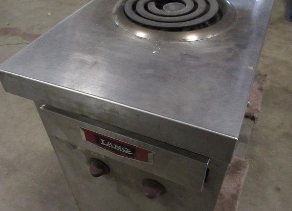 Lang Electric 2 Burner Stock Pot Range