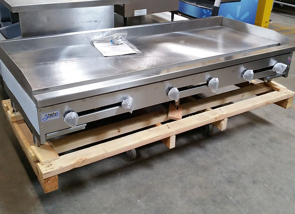 """72"""" Griddle Gas Flat Top Grill 6' NSF Stratus SMG-72 2897 Commercial"""